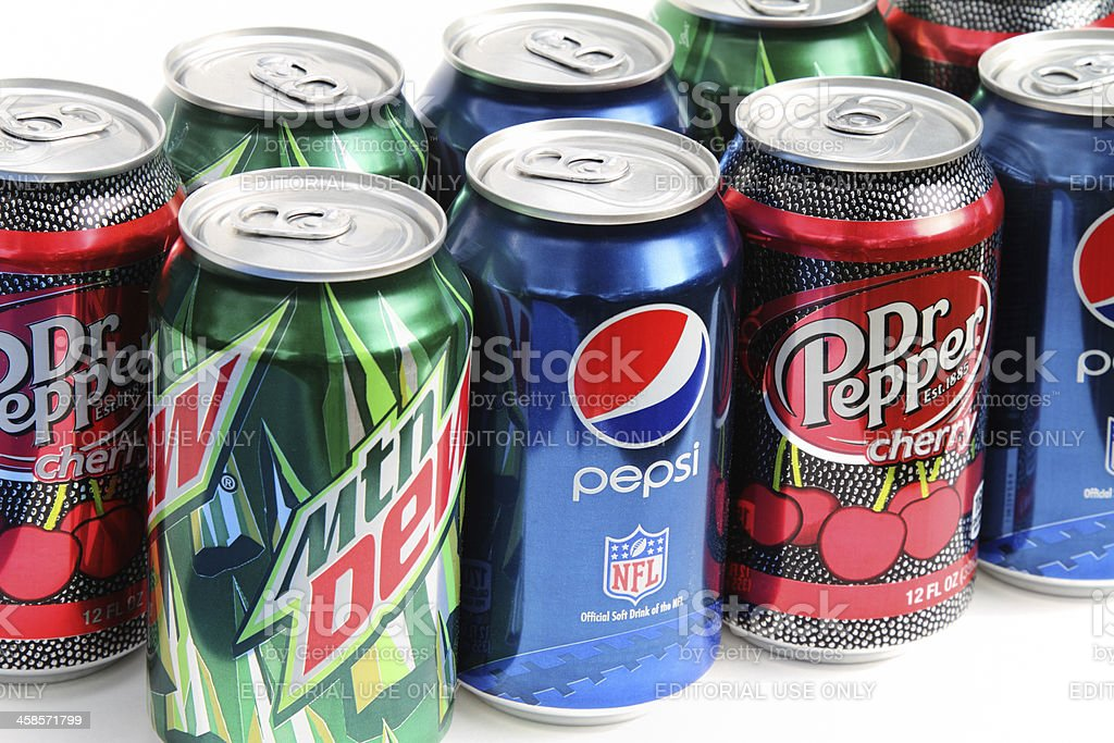 Pepsi products royalty-free stock photo