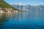 Perast on Bay of Kotor, Montenegro