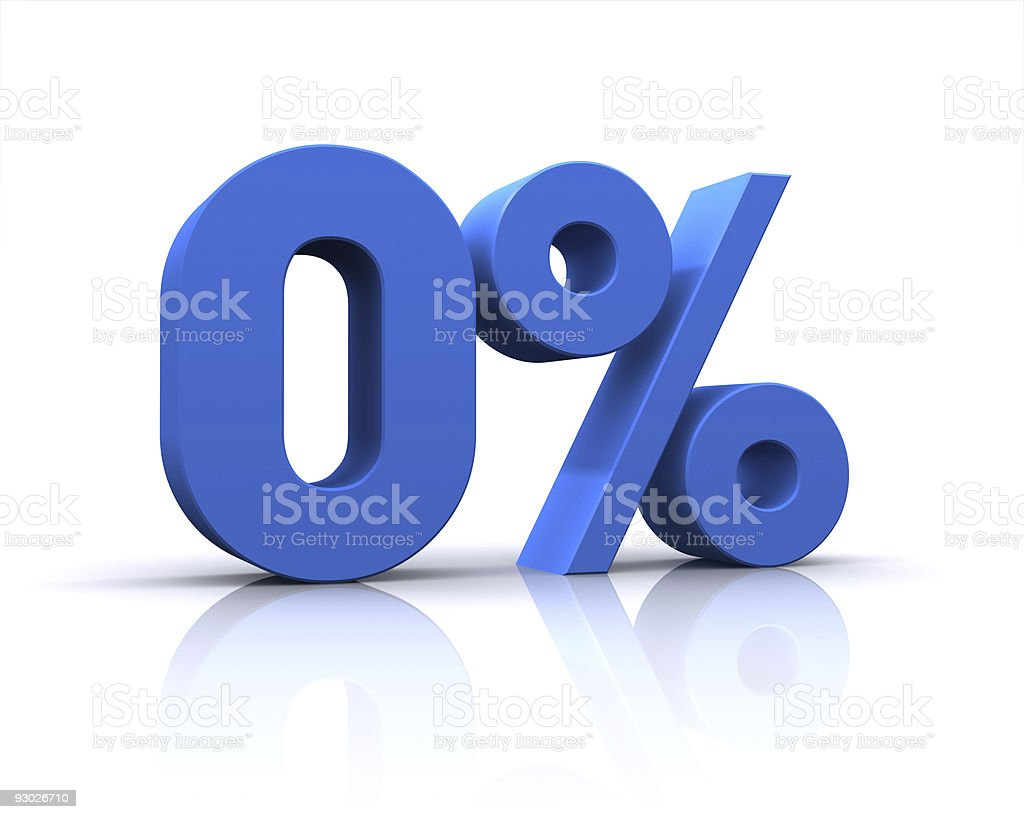 percentage, 0% stock photo