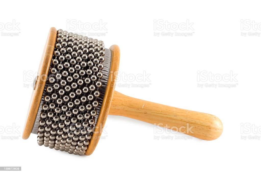 Percussion Instrument Afuche Cabassa Shaker stock photo