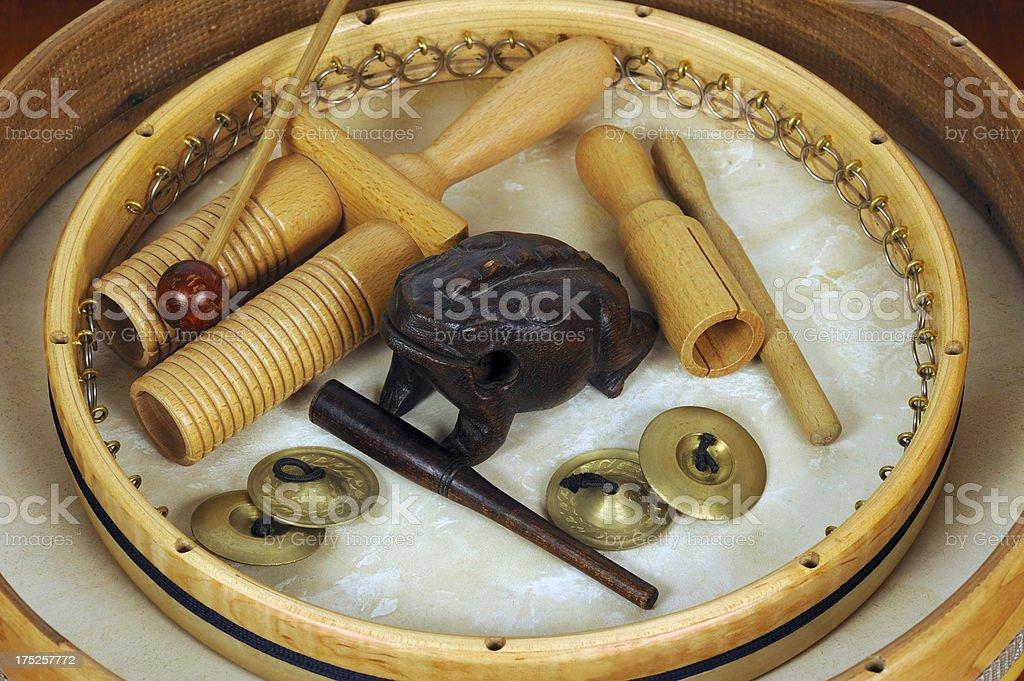 Percussion Instruments royalty-free stock photo