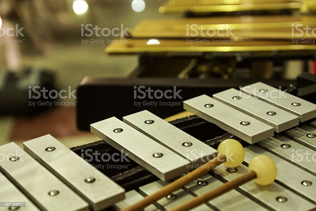 Percussion Instruments ( Xylophone ). stock photo