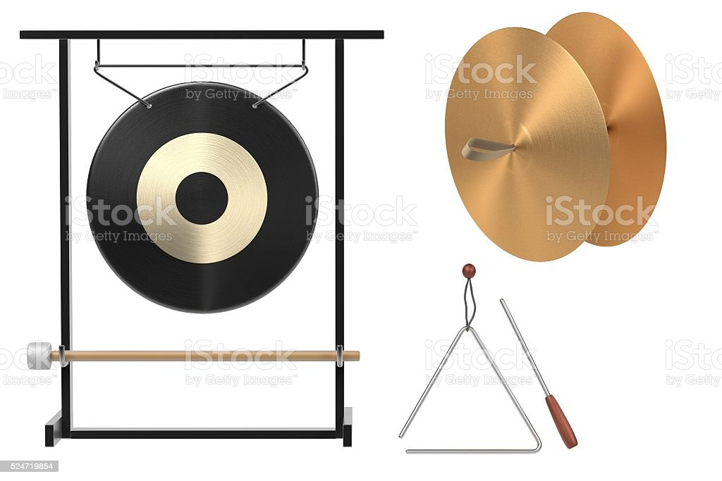percussion set stock photo