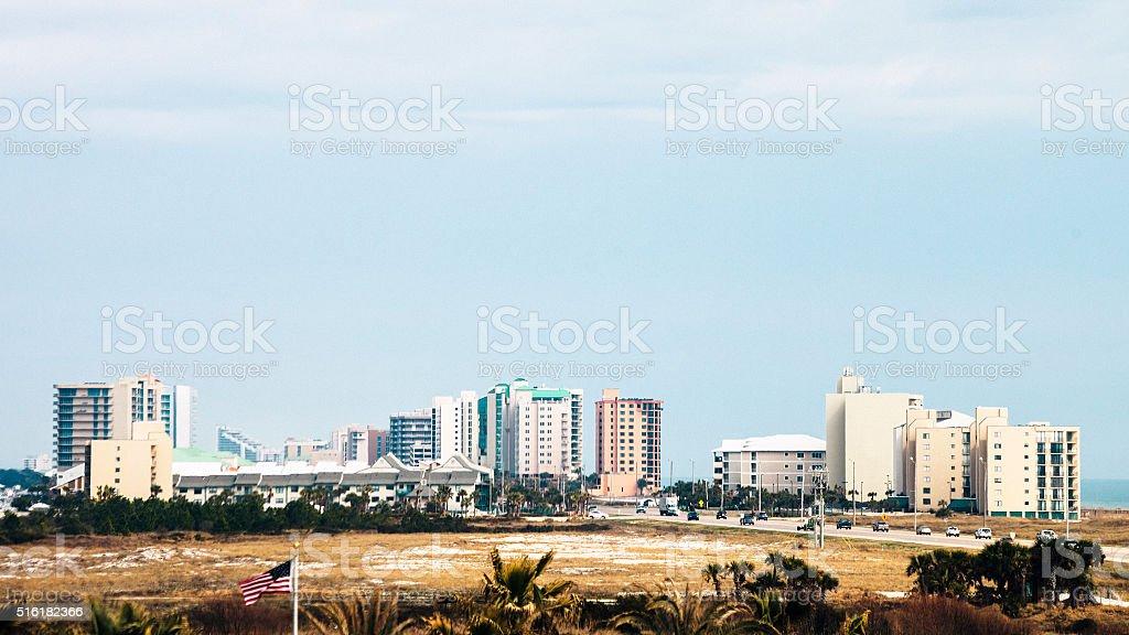 Perdido Key, Florida. stock photo