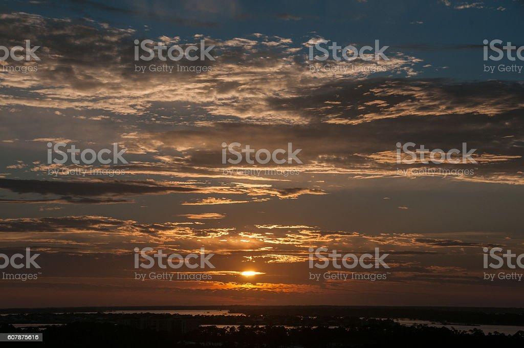 Perdido Sunset Horizontal stock photo