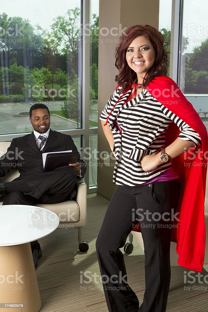Perfect applicant for the job royalty-free stock photo