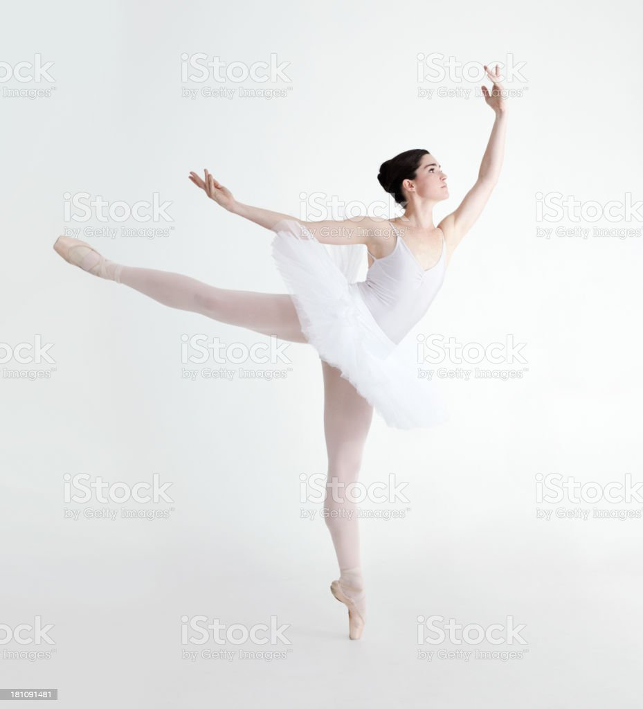Perfect arabesque stock photo