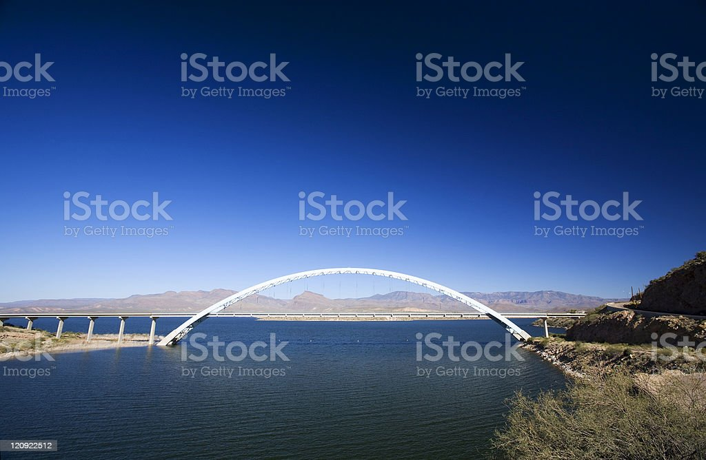 Perfect Arch stock photo