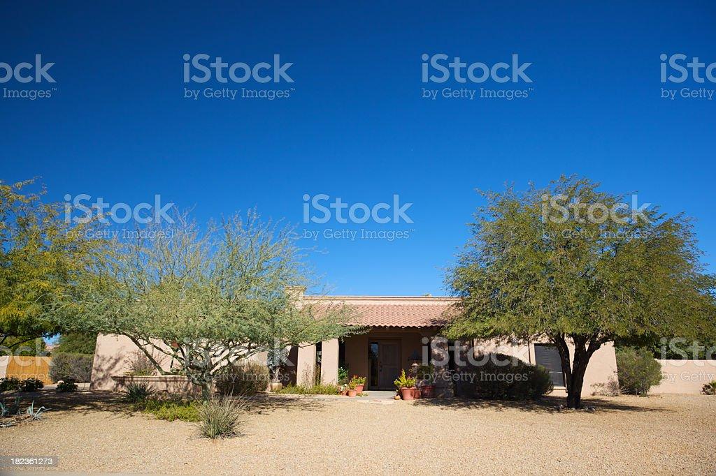 Perfect Arizona Home stock photo