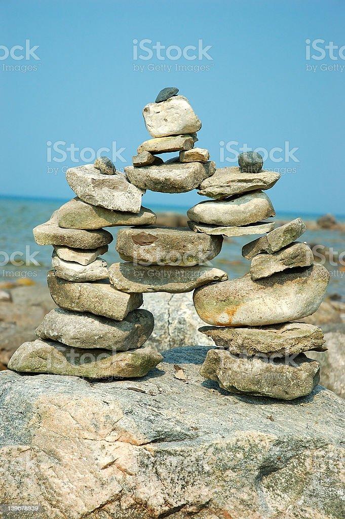 Perfect Balance royalty-free stock photo