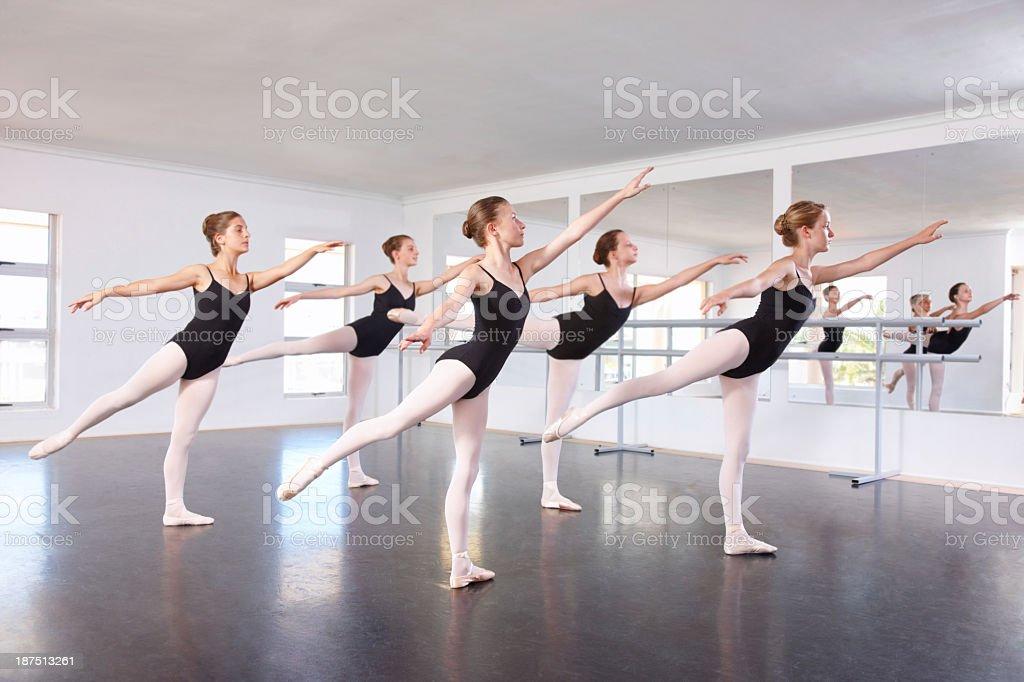 Perfect balance stock photo