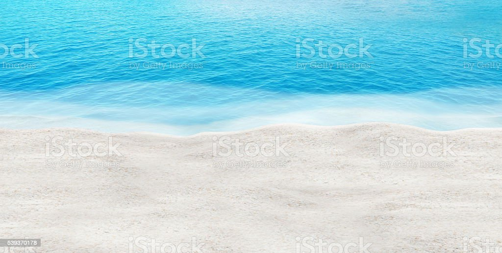 perfect beach clear water summer holiday water sand concept background stock photo