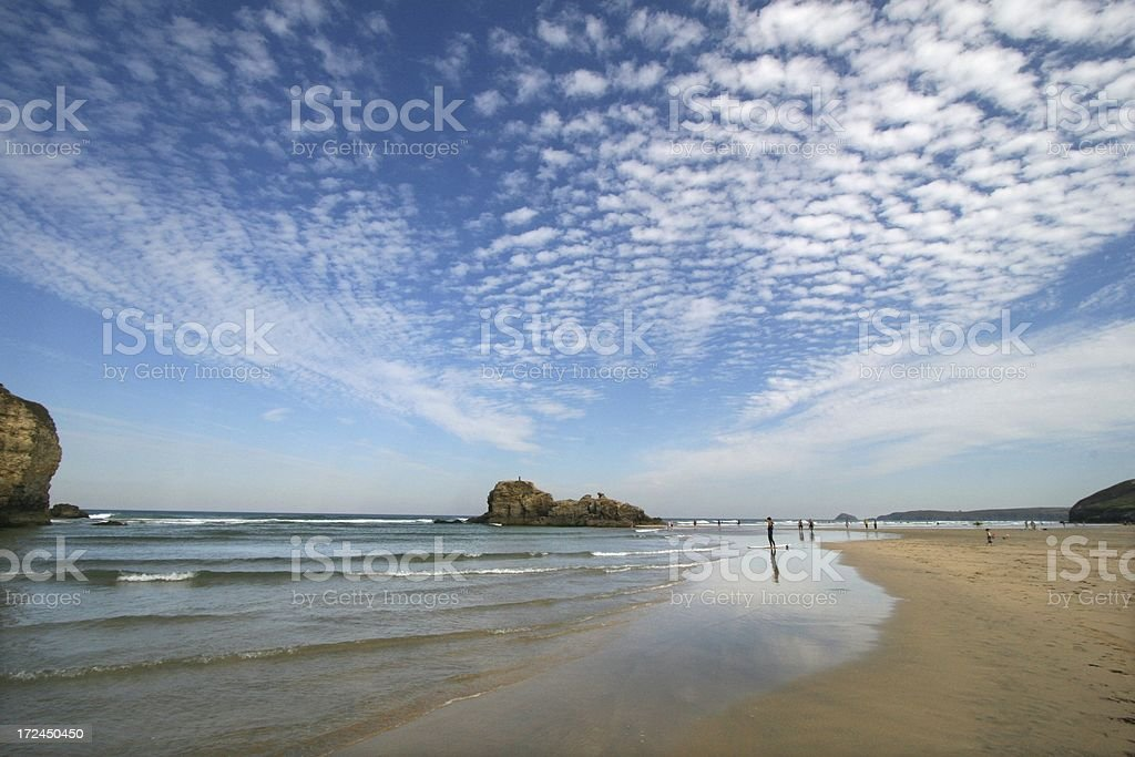 Perfect beach day royalty-free stock photo