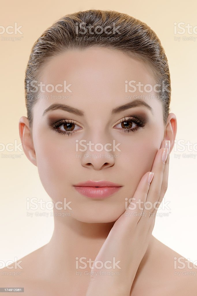 perfect beauty royalty-free stock photo