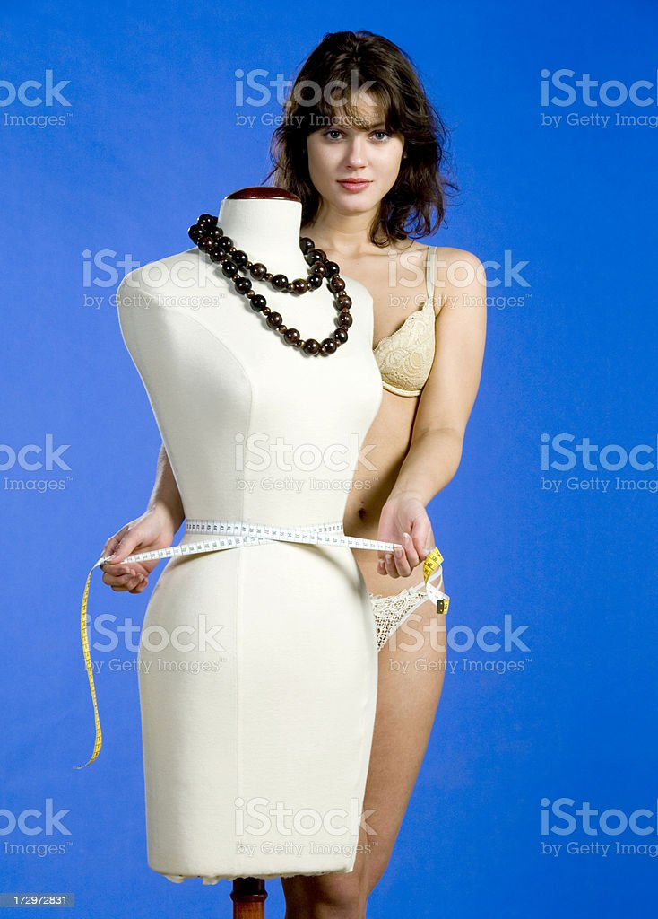 perfect body measurements royalty-free stock photo