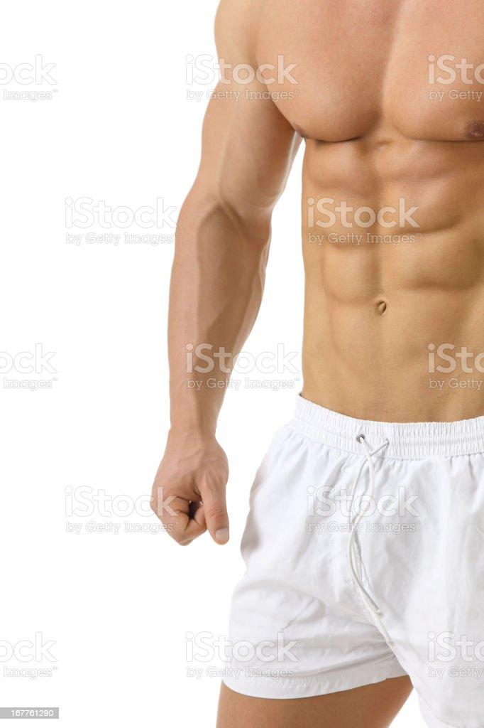 Perfect body royalty-free stock photo
