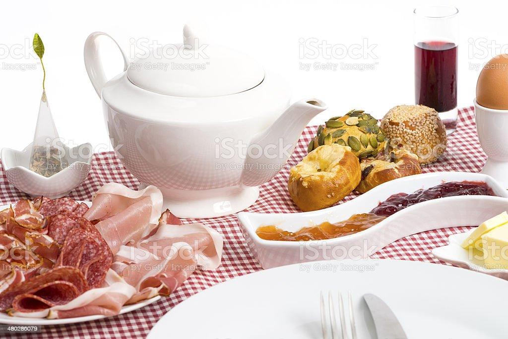 perfect breakfast / Fr?hst?ck stock photo