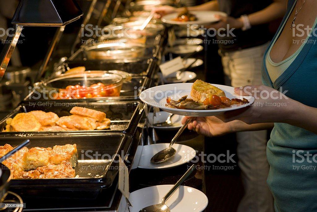 Perfect buffet stock photo
