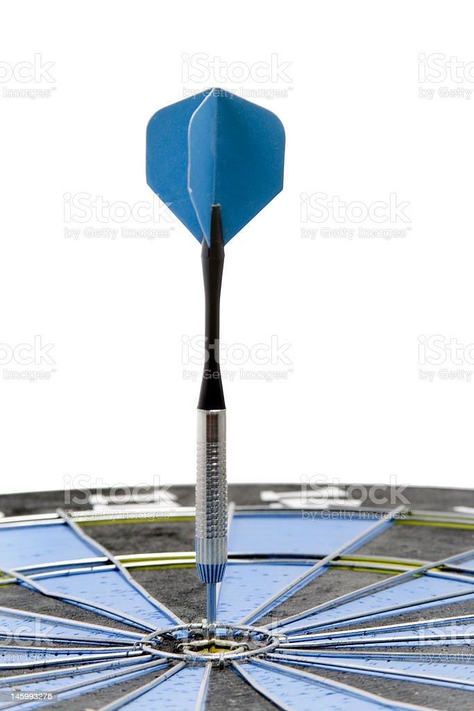 Perfect Bullseye royalty-free stock photo