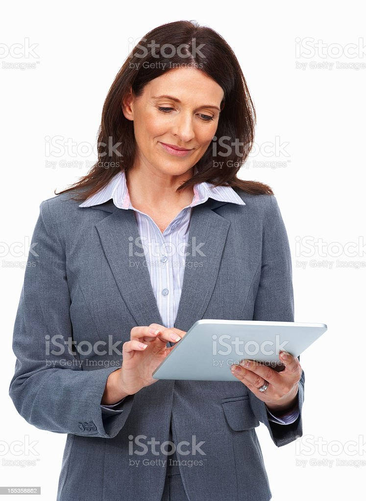 Perfect business companion royalty-free stock photo