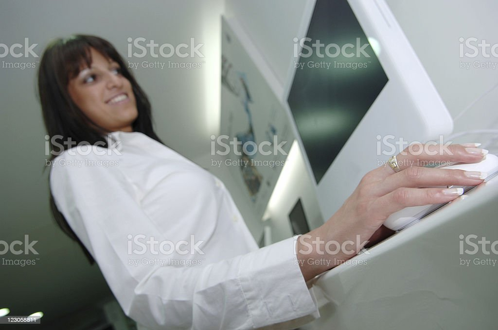Perfect businesswoman royalty-free stock photo