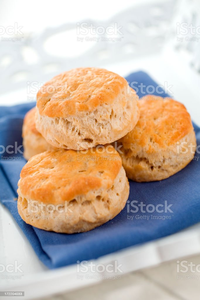 Perfect Buttermilk Biscuits royalty-free stock photo