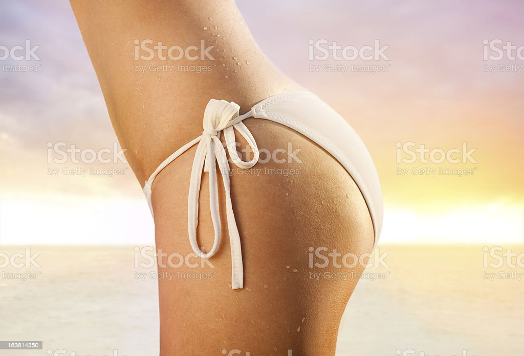 Perfect Buttocks royalty-free stock photo