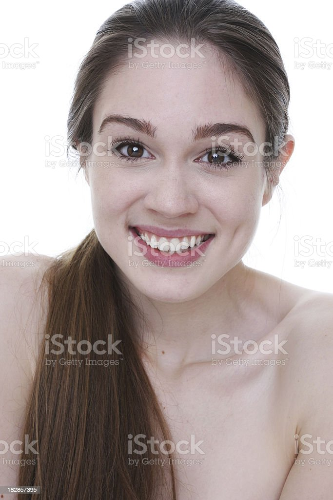 perfect complexion royalty-free stock photo
