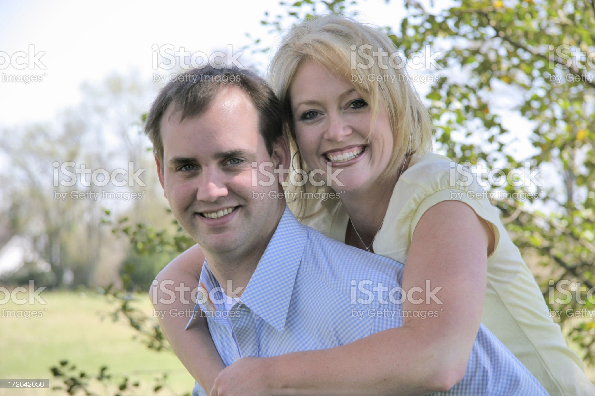 Perfect couple. royalty-free stock photo