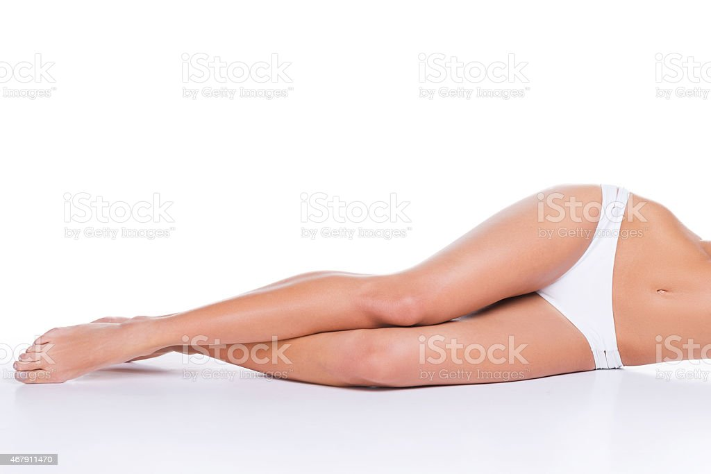 Perfect curves. stock photo