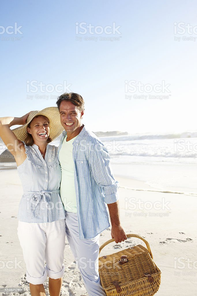 Perfect day for a picnic royalty-free stock photo
