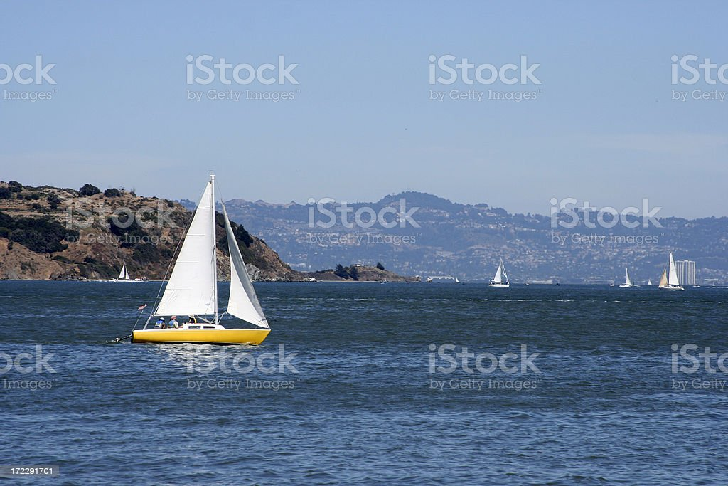 Perfect Day for Sailing stock photo