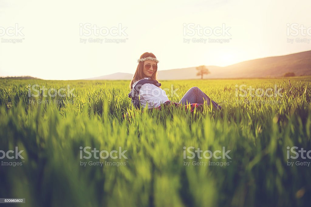 Perfect day stock photo