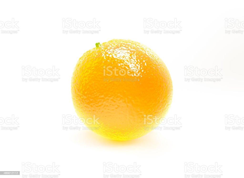 perfect delicious orange glowing fruit stock photo