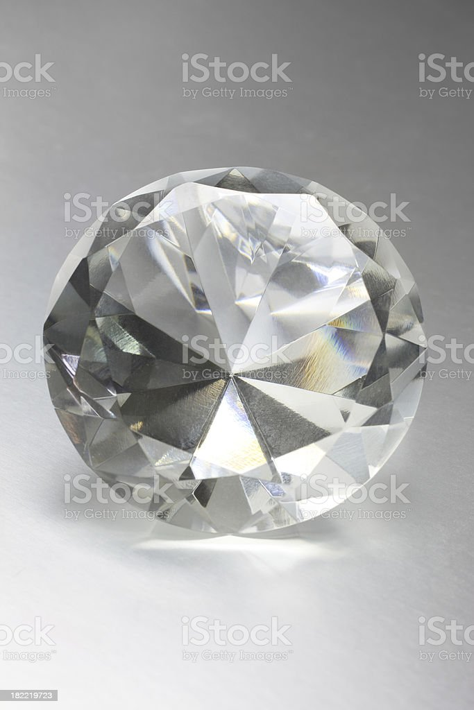 Perfect Diamond royalty-free stock photo