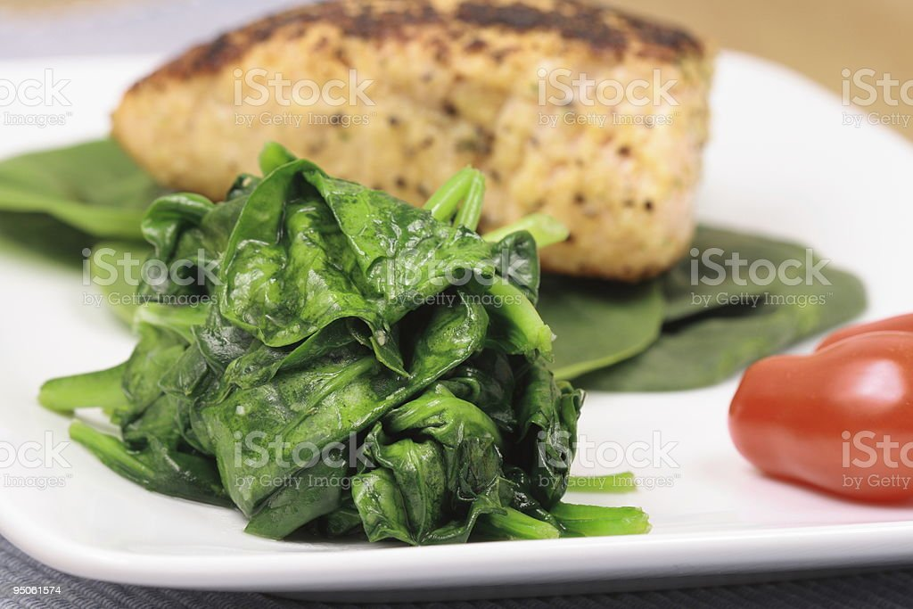 perfect dinner royalty-free stock photo