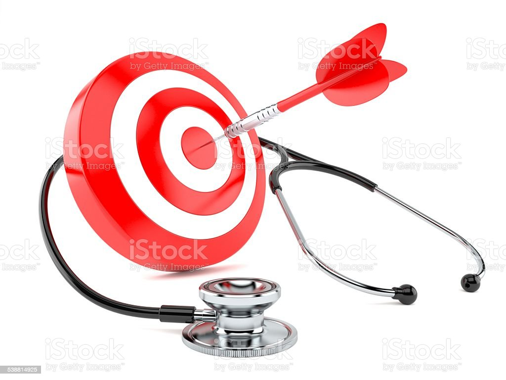 Perfect doctor stock photo