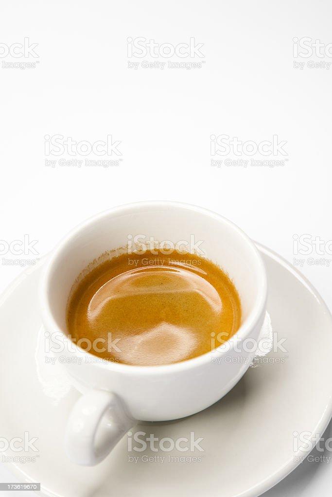 perfect espresso royalty-free stock photo