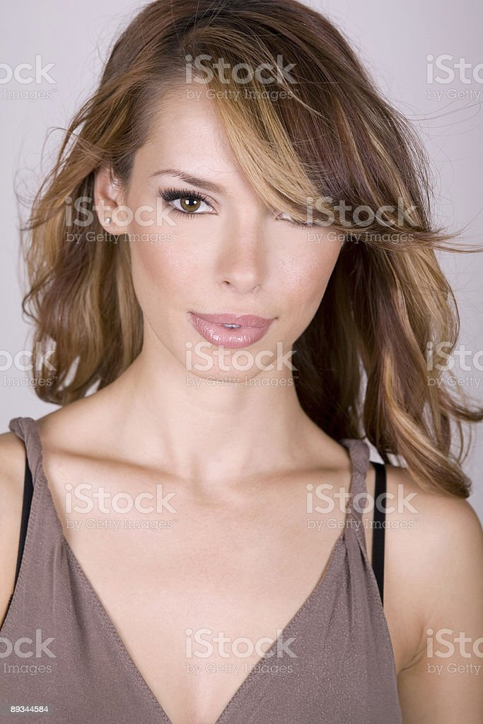 perfect face royalty-free stock photo