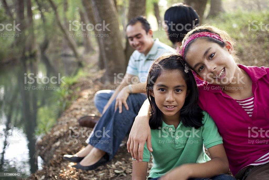 Perfect family royalty-free stock photo
