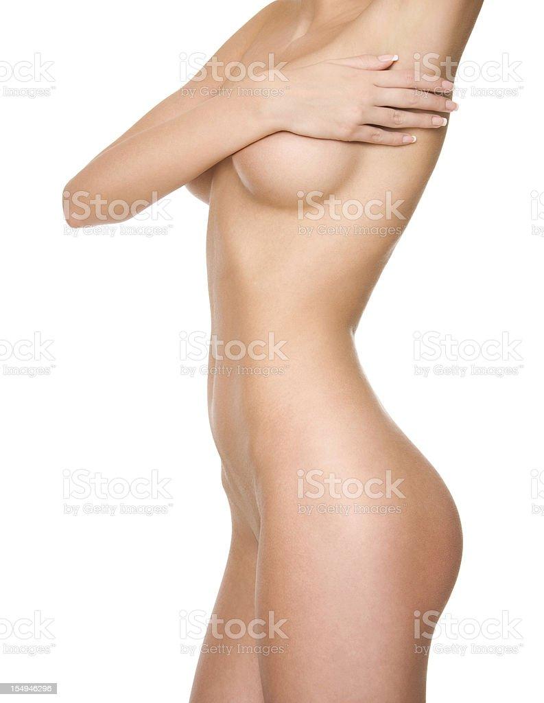 Perfect female body. royalty-free stock photo
