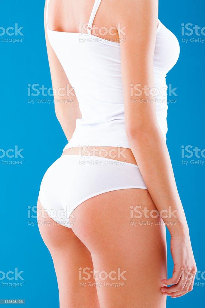 Perfect female body royalty-free stock photo