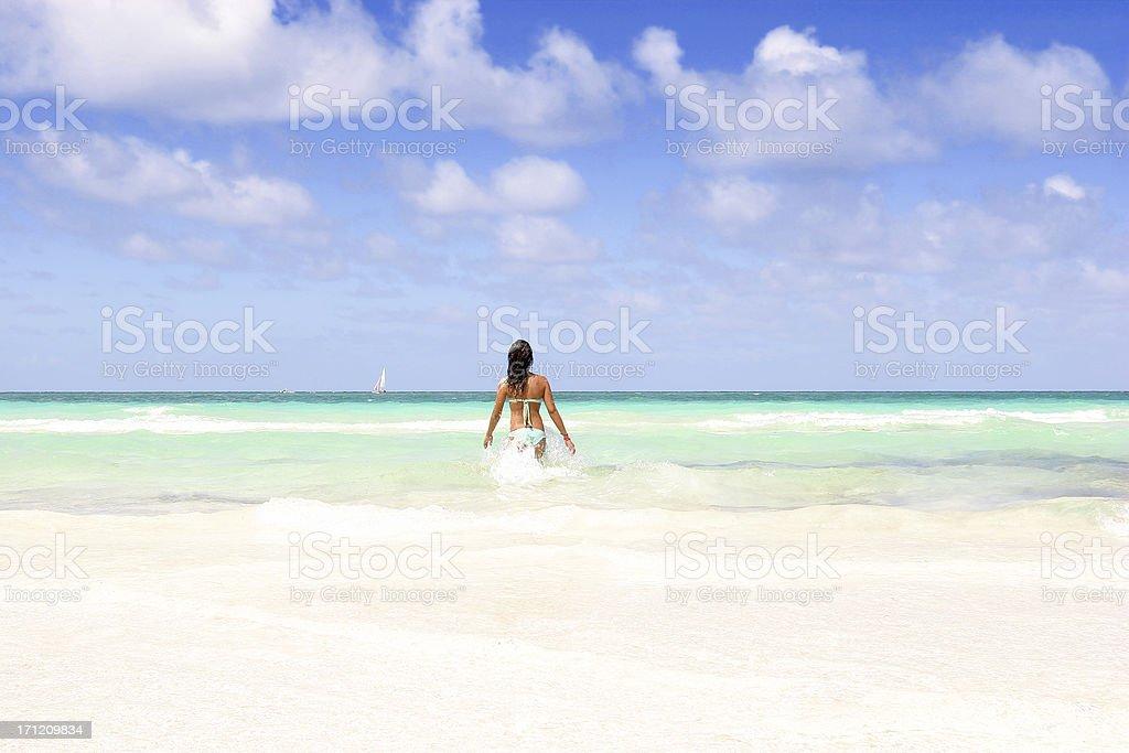 Perfect Getaway stock photo