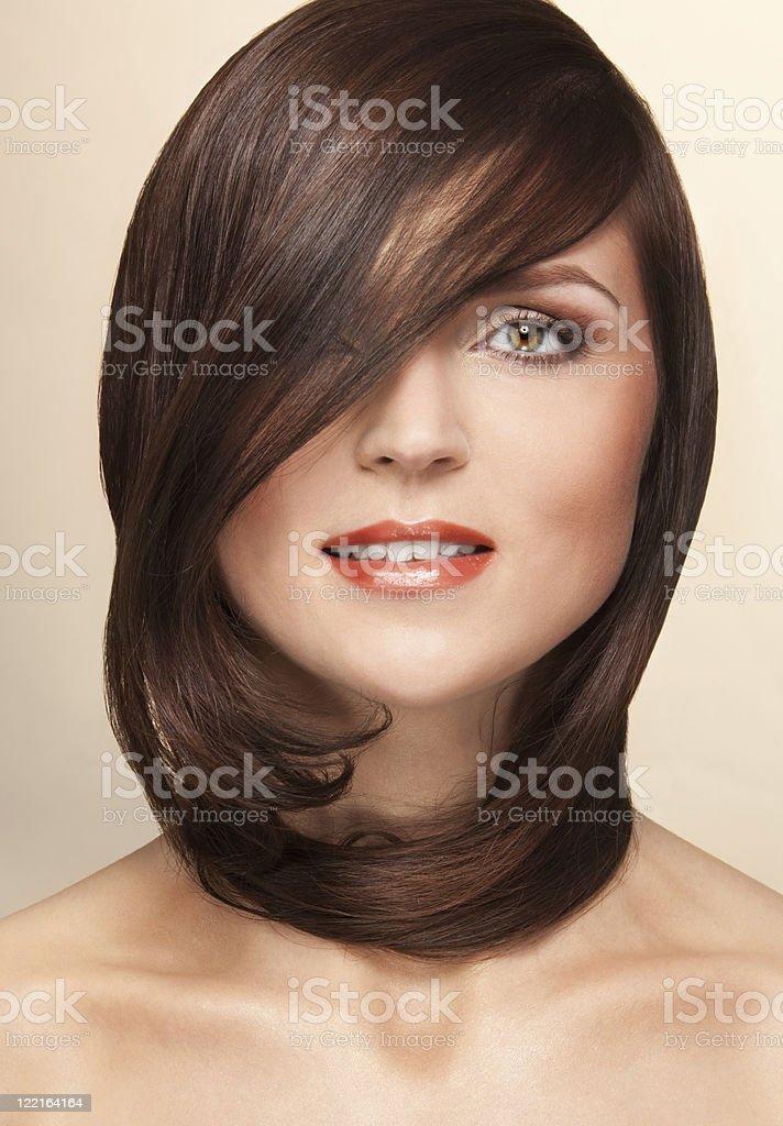 Perfect hairs royalty-free stock photo