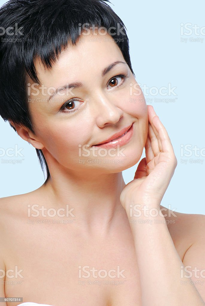 perfect healthy skin royalty-free stock photo