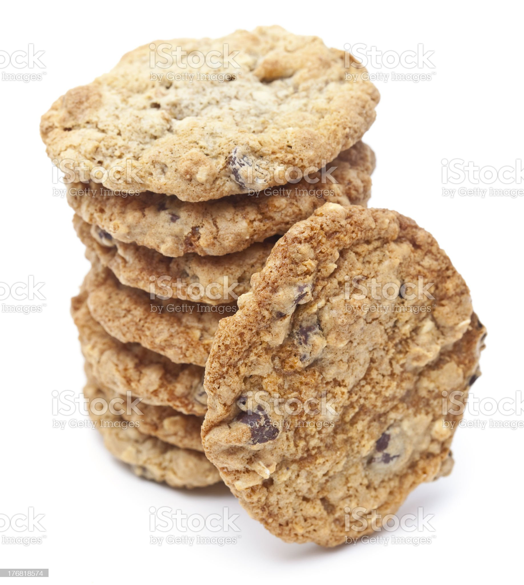 Perfect Homemade Cookies royalty-free stock photo