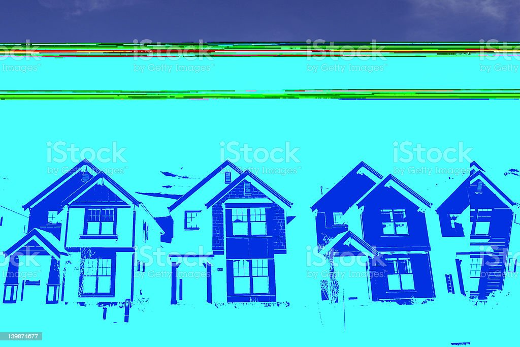 Perfect Houses royalty-free stock photo