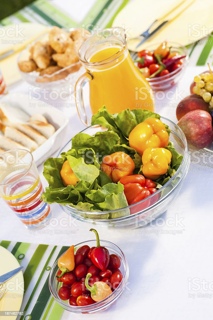 Perfect ingredients for a healthy meal . royalty-free stock photo