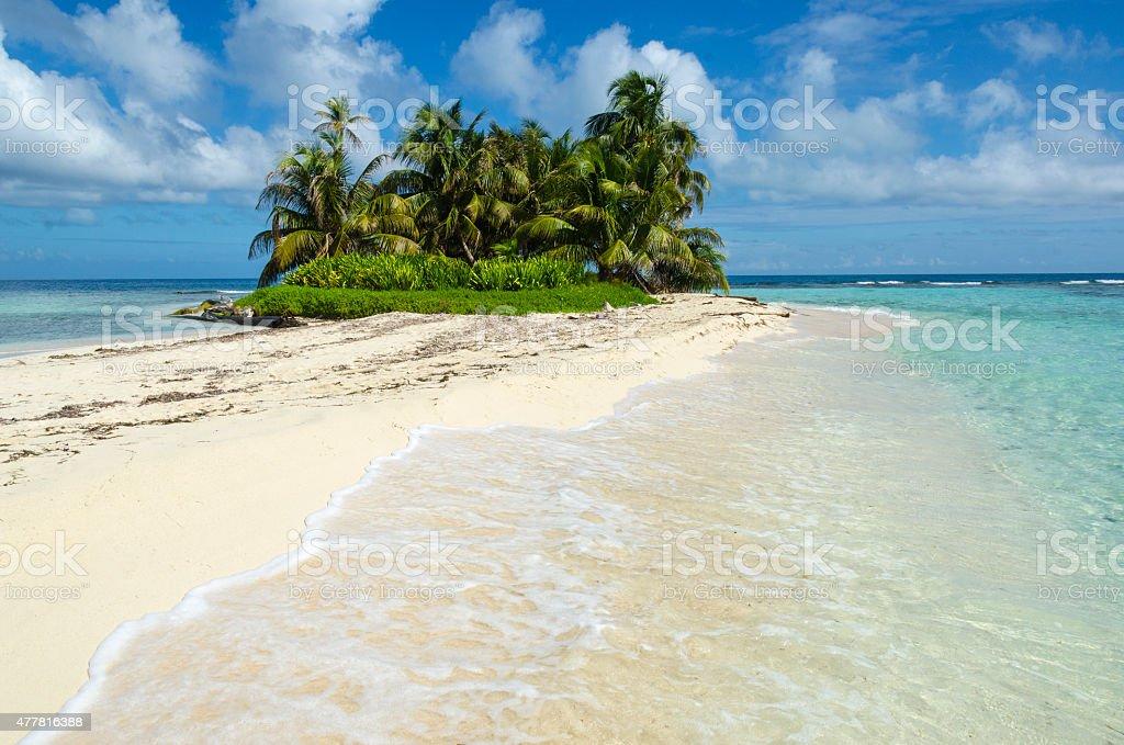 Perfect Island Escape stock photo