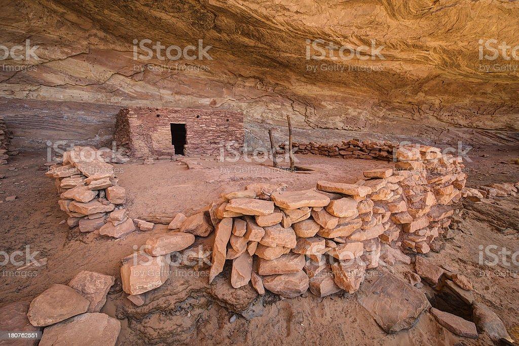 Perfect Kiva Ruin royalty-free stock photo
